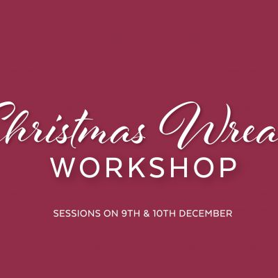 Christmas Wreath Workshop Session 1