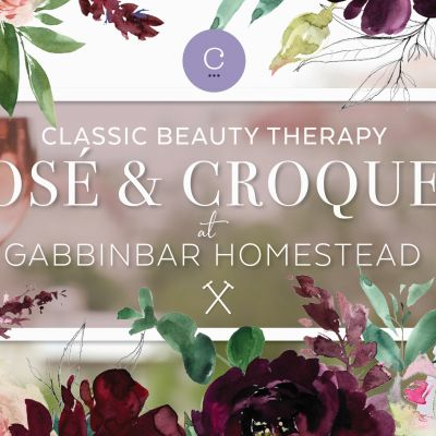 Classic Beauty Therapy Rosé & Croquet