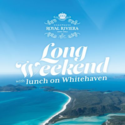 Champagne Royal Riviera Long Weekend with lunch on Whitehaven