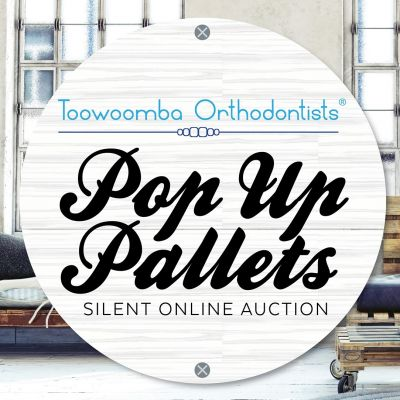 Toowoomba Orthodontists Pop Up Pallets Silent Online Auction