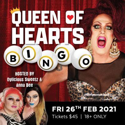 Queen of Hearts Bingo